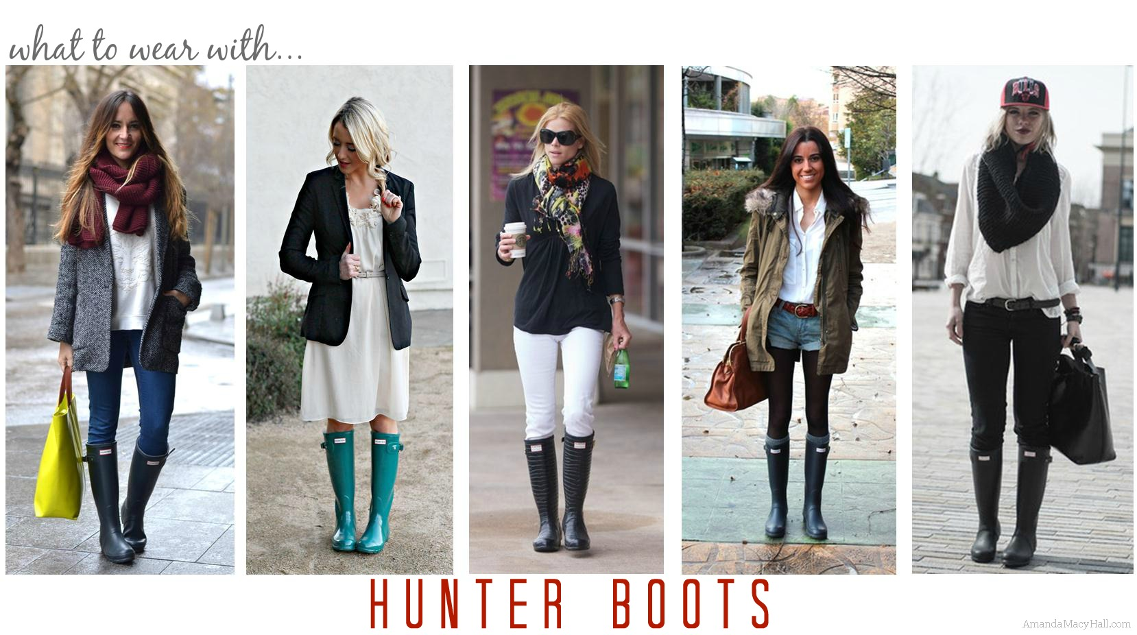 SYNONYM FOR RAIN BOOTS #hunter - Misses Bond