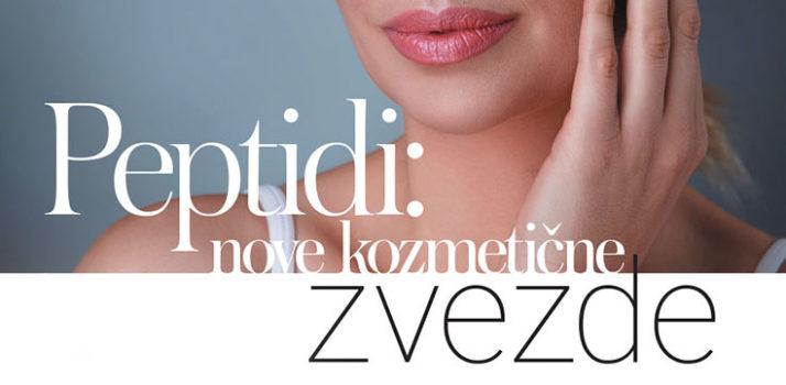 Peptidi – nove zvezde v kozmetiki