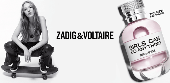 Girls can do anything. Zadig & Voltaire
