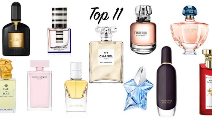Razkrivam svojih TOP 11 parfumov