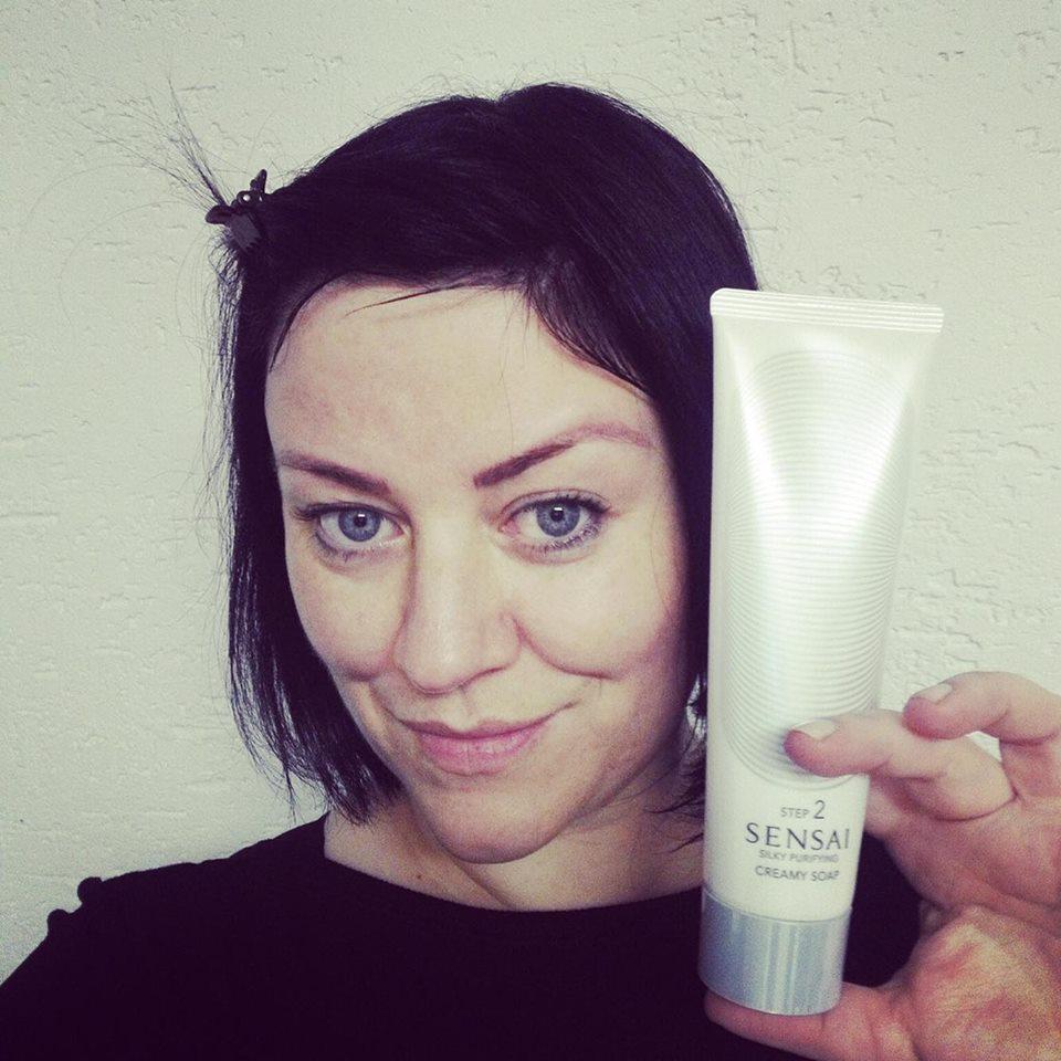 creamy soap, sensai